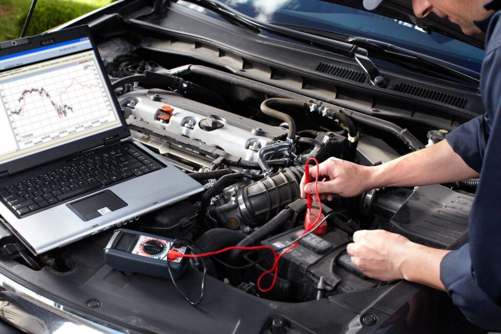 16279148 - car mechanic working in auto repair service